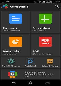 OfficeSuite Pro&Premium (PDF & HD) 8.1.2659 (Android)