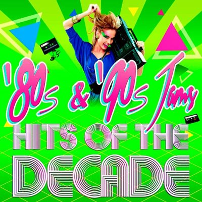 '80s & '90s Jams! Hits of the Decade (2015) MP3