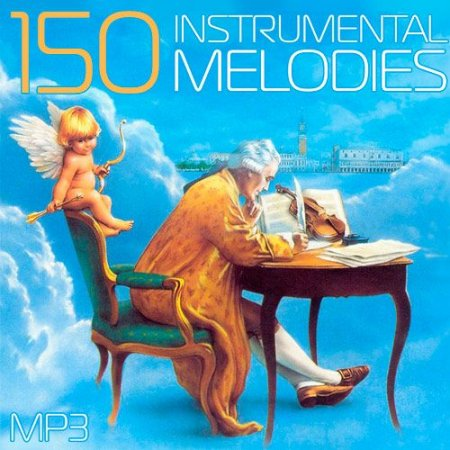 Обложка 150 Instrumental Melodies (2015) Mp3