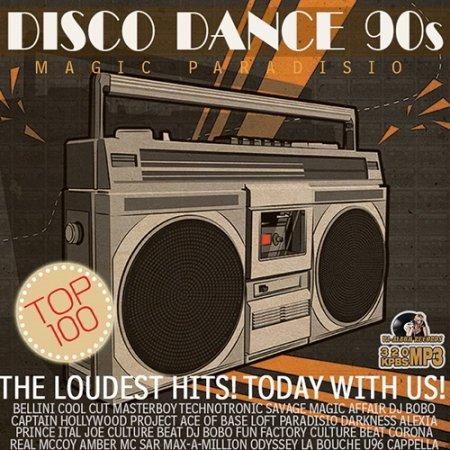 Обложка Disco Dance 90s (2016) MP3
