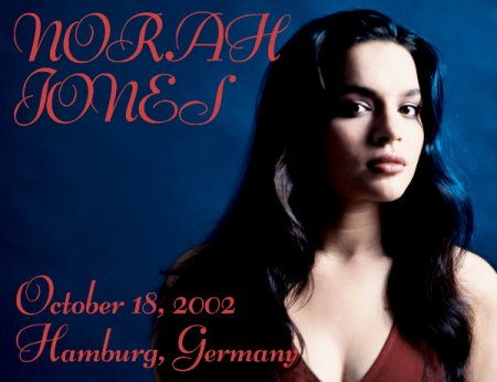 Обложка Norah Jones - Hamburg Germany (2002) FM FLAC