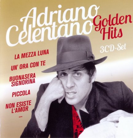 Обложка Adriano Celentano - Golden Hits (2013) FLAC, MP3
