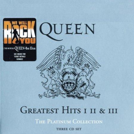 Обложка Queen-The Platinum Collection: Greatest Hits I, II&III (3CD) (2000) Mp3