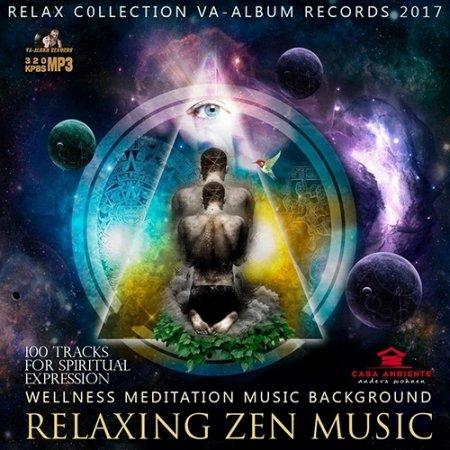 Обложка Relaxing Zen Music: Ambient Meditation (2017) Mp3
