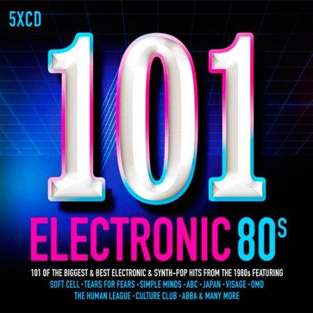 Обложка 101 Electronic 80s (5CD) (2017) Mp3