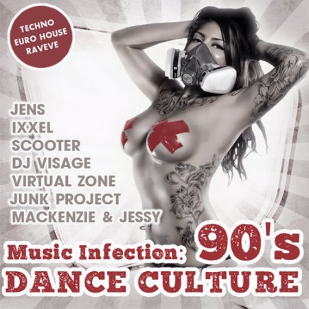 Обложка Music Infection: Dance Culture 90's (2018) Mp3
