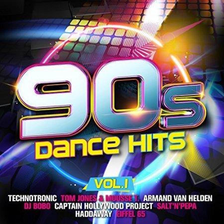 Обложка 90s Dance Hits Vol.1 (2018) Mp3