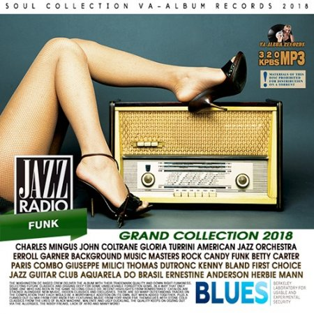 Обложка Blues And Jazz Radio: Grand Collection (2018) Mp3
