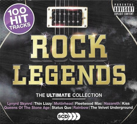 Обложка Rock Legends - The Ultimate Collection (2018) Mp3