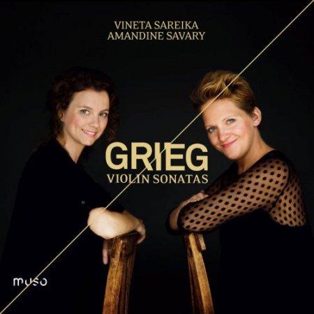 Обложка Edvard Grieg: Violin Sonatas (2018) (Hi-Res) FLAC