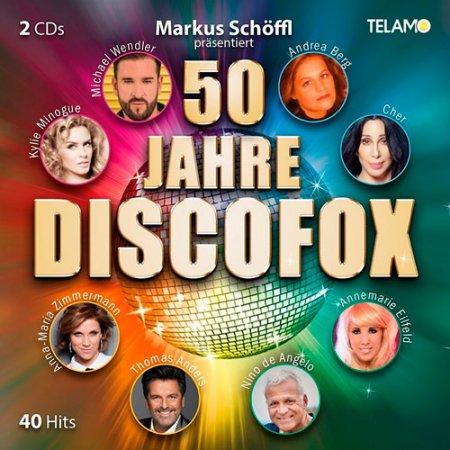 Обложка 50 Jahre Discofox (2 CD) (2018) Mp3