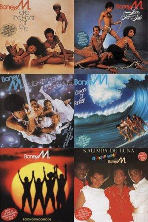 Обложка Boney M - The Complete Original Recordings (1976-1985) (1994) Mp3
