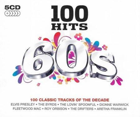 Обложка 100 Hits 60s (5CD) (2015) Mp3