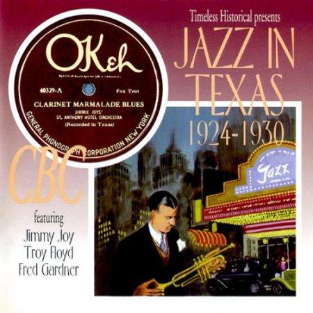 Обложка Jazz In Texas 1924-1930 (1997) Mp3