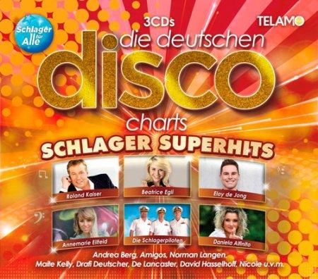 Обложка Die Deutschen Disco Charts - Schlager Superhits (2019) Mp3