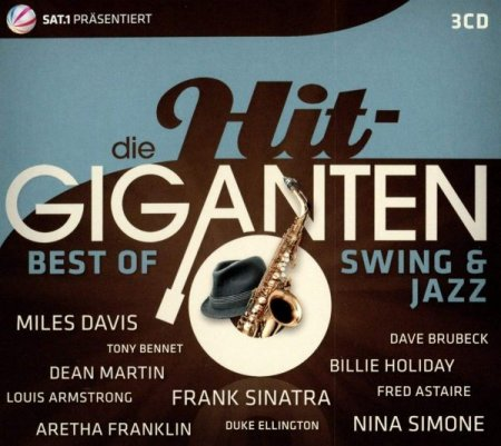 Обложка Die Hit-Giganten: Best Of Swing & Jazz (3CD Box Set) (2016) FLAC/Mp3