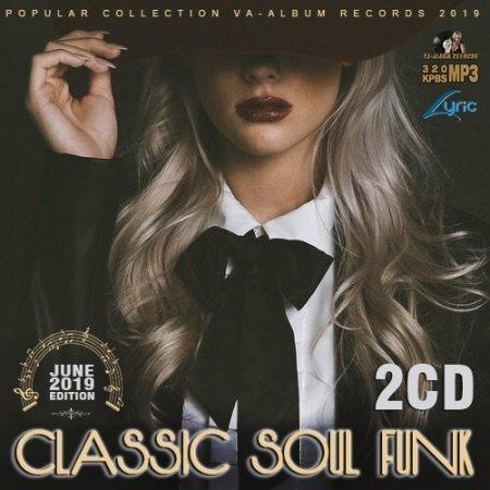 Обложка Classic Soul Funk (2CD) (2019) Mp3