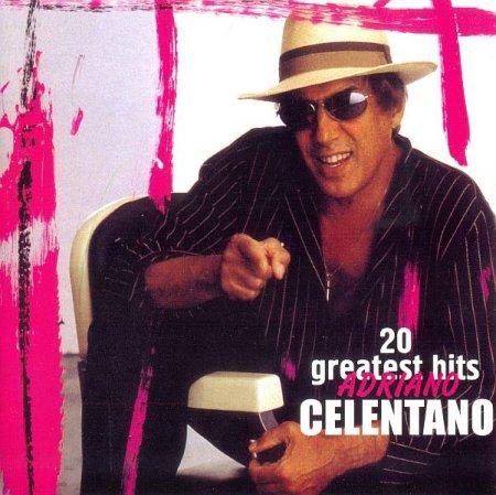 Обложка Adriano Celentano - 20 Greatest Hits (2005) FLAC