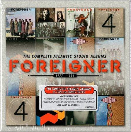 Обложка Foreigner - The Complete Atlantic Studio Albums 1977-1991 (2014) FLAC