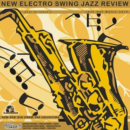 Обложка New Electro Swing: Jazz Review (2019) Mp3