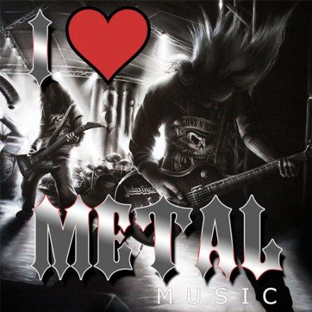 Обложка I Love Metal Music (2019) Mp3