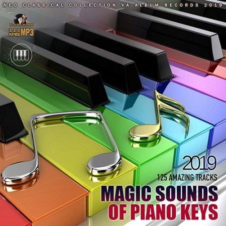 Обложка Magic Sounds Of Piano Keys (2019) Mp3