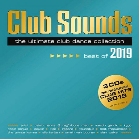 Обложка Club Sounds - Best Of 2019 Mp3