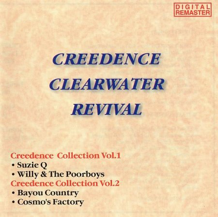 Обложка Creedence Clearwater Revival - Creedence Collection Vol.1 + Vol.2 (1998) FLAC