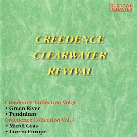 Обложка Creedence Clearwater Revival - Creedence Collection Vol.3 + Vol.4 (1998) FLAC