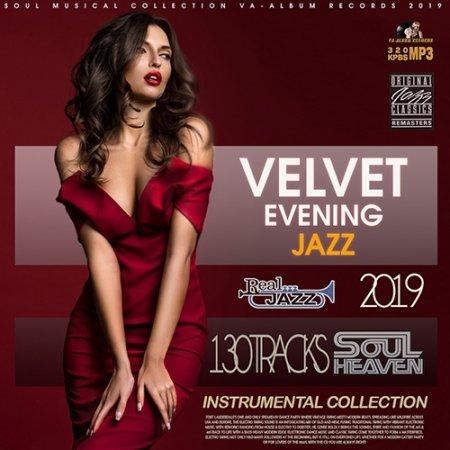 Обложка Velvet Evening Jazz (2019) Mp3