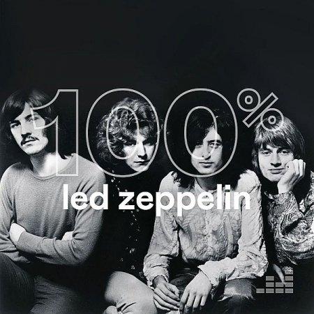Обложка Led Zeppelin - 100% Led Zeppelin (Unofficial Release) (2019) Mp3