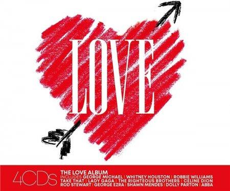 Обложка The Love Album (4CD) (2020) MP3