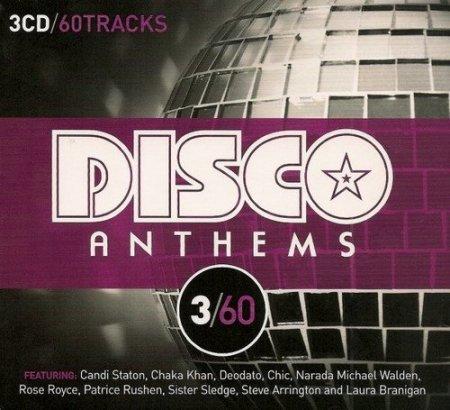Обложка 3/60 - Disco Anthems (3CD Box Set) (2011) FLAC