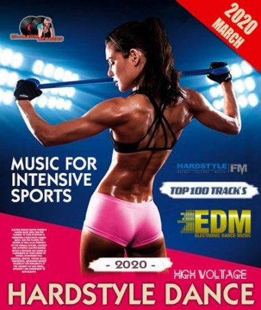 Обложка Music For Intensive Sports: Hardstyle Dance (2020) Mp3
