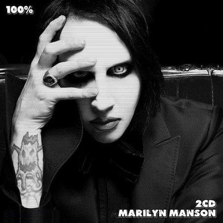 Обложка Marilyn Manson - 100% Marilyn Manson 2CD (2020) Mp3