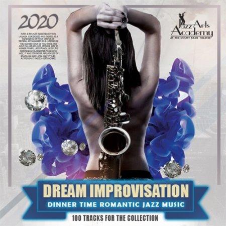 Обложка Dream Improvisation: Romantic Jazz Music (2020) Mp3