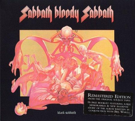 Обложка Black Sabbath - Sabbath Bloody Sabbath (1973) (Remastered Edition) FLAC