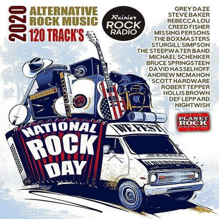 Обложка National Rock Day (2020) Mp3