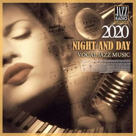 Обложка Night And Day: Vocal Jazz Music (2020) Mp3