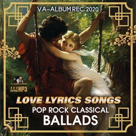 Обложка Love Lyrics Songs (2020) Mp3