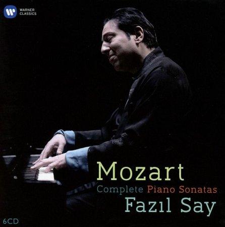 Обложка Fazil Say - Mozart: Complete Piano Sonatas (6CD Box Set) (2016) FLAC
