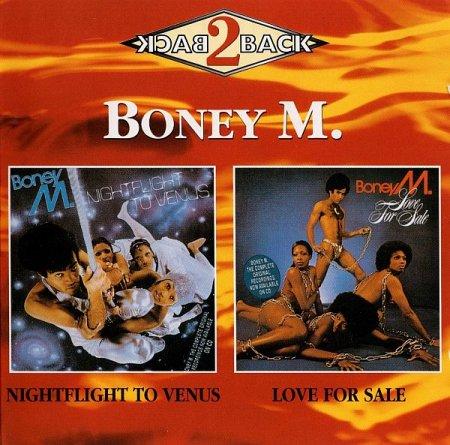 Обложка Boney M. - Nightflight To Venus (1978) / Love For Sale (1977) (2in1) (1995) FLAC