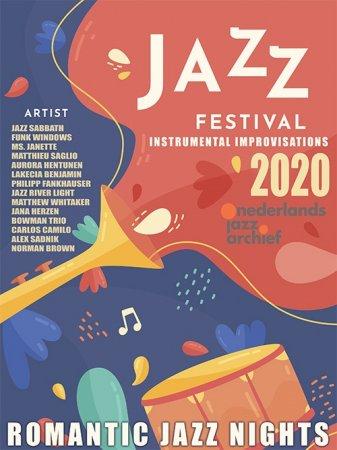 Обложка Romantic Jazz Nights (2020) Mp3