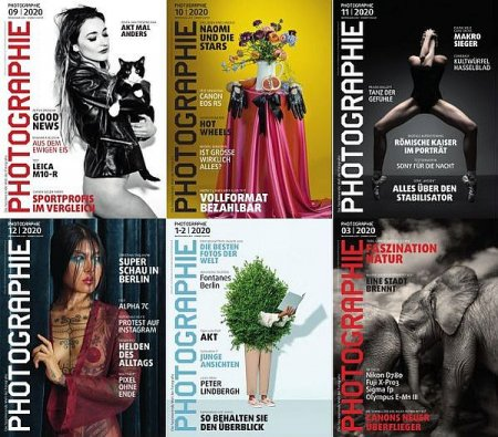 Обложка Подшивка журнала - Photographie (January-December 2020) PDF. Архив 2020