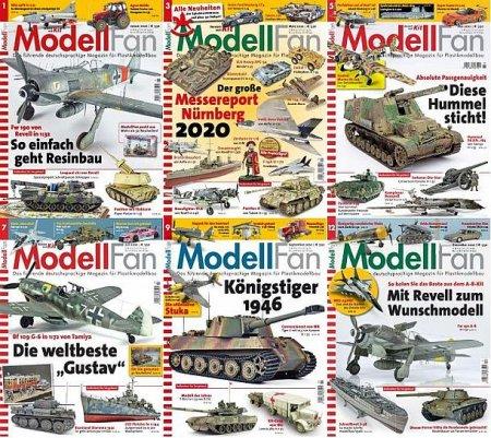Обложка Подшивка журнала - ModellFan (January-December 2020) PDF. Архив 2020