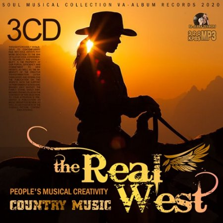 Обложка The Real West (3CD) (2020) Mp3