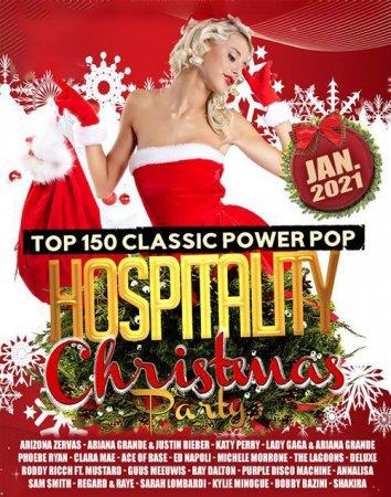 Обложка Hospitality Christmas Pop Party (2021) Mp3