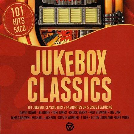 Обложка 101 Hits Jukebox Classics (Box Set, 5CD) (2018) Mp3