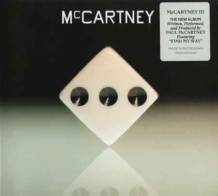 Обложка Paul McCartney - McCartney III (2020) FLAC