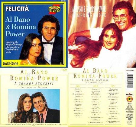 Обложка Al Bano & Romina Power - 3 Albums (Box Set, 5CD) (1985-1997) FLAC